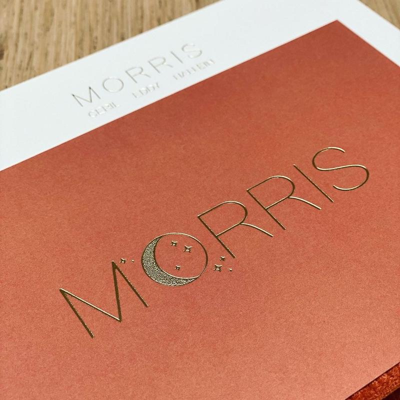 Onze realisaties | Image right uitnodiging Morris