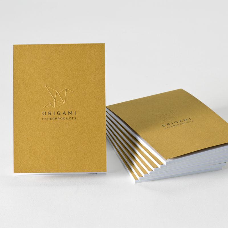 Product Gepersonaliseerd notitieboekje met reliëfdruk