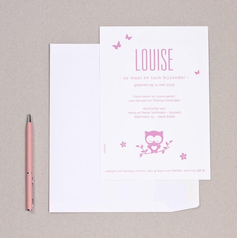Louise met uiltje