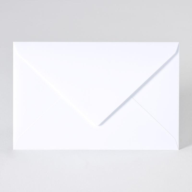 Enveloppe met puntklep in extra white (18,5 x 12,0 cm)