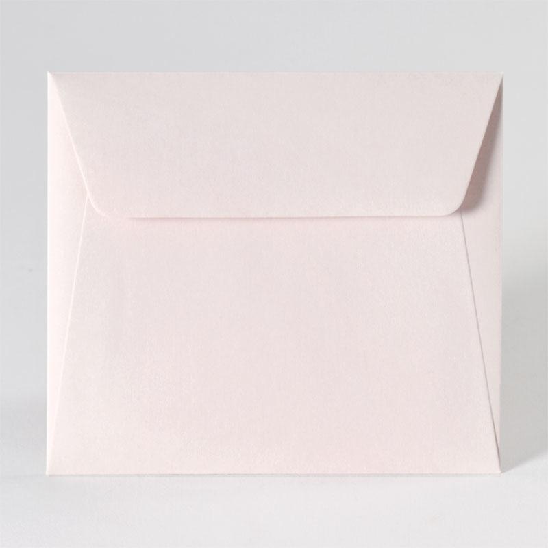Gekleurde enveloppe in nude (14,0 x 12,5 cm)