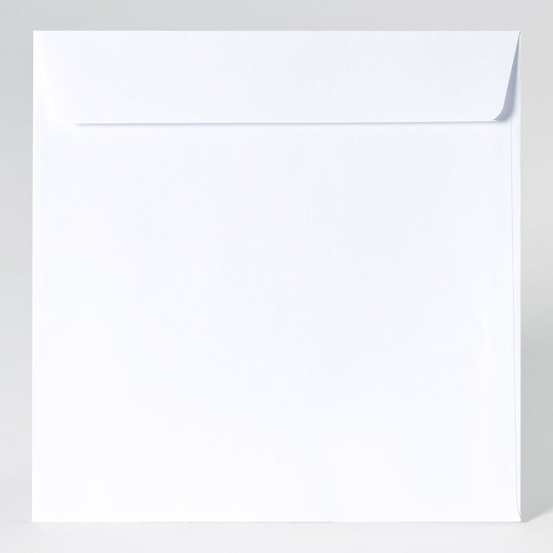 Grote vierkante enveloppe in extra white (22,0 x 22,0 mm)
