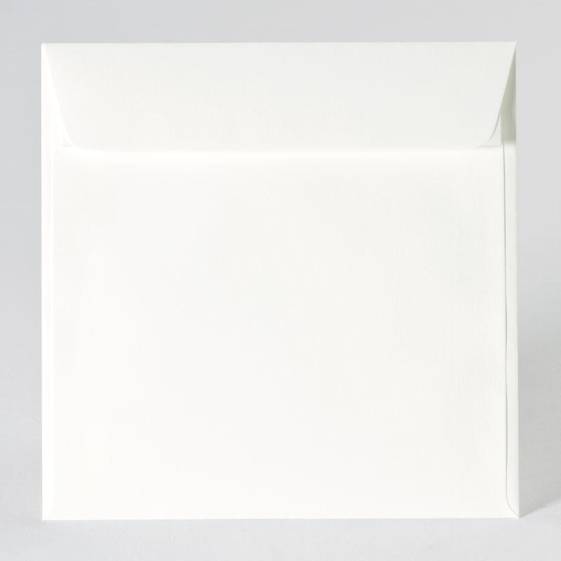Vierkante enveloppe in offwhite (17,0 x 17,0 cm)